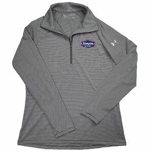Under Armour 1/4 Zip Jacket Womens Medium Mock Pullover Active Shirt Long Sleeve