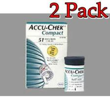 Accu-Chek Compact Plus Glucose Test Strips, 51ct, 2 Pack 075537474198S8029
