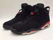 BNIB Men's Air Jordan Retro 6 BRED Varisty Red Size 8.5 384664 061 Custom