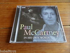 Paul McCartney - In His Own Words BBC Radio & TV Interviews 2 x CD NEW! Beatles