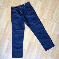 Dark Blue Next Loose Fit Jeans Trousers  32R 81cm