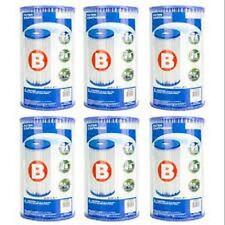 Intex Size B Swimming Pool Filters (Box of 6)