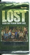 Lost Season 3 Factory Sealed Hobby Packet / Pack