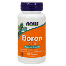 Boron, 3mg x 100 Capsules - NOW Foods