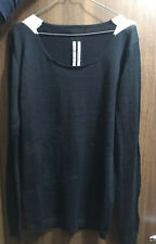 Rick Owens Sweater Black&White Wool Moody FW14 Size L