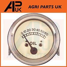 Massey ferguson tracteur huile jauge de pression TE20 tea ted tef à 20 135 visage blanc
