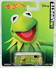 Hot Wheels Volkswagen T1 Panel Bus The Muppets Pop Culture #BDR79 New NRFP 1:64