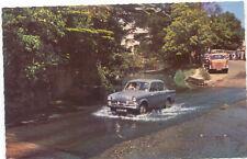 Hillman Minx in Sidmouth Postcard