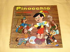 Pinocchio Sophie Desmarets  LP Album Walt Disney