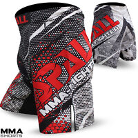 MMA Fight Shorts Grappling Short Kick Muay Thai Boxing Cage Fighting Spall