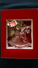 Marquis by Waterford Lead Crystal 2014 Baby's First Christmas Ornament NIB