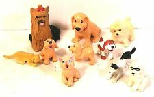 "lot figurines animaux "" chiens-chats "" (A) environ 10 figurines H 65mm"
