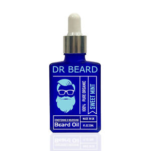 Dr Beard Oil Organic Conditioning Premium  30ml Bottle - Sweet Mint Xmas Gift