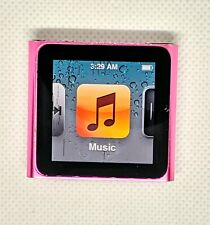 Apple iPod nano 6th Generation 8GB Pink Color - Good small lines on screen