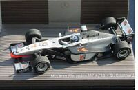 MINICHAMPS B6 6960520 McLAREN MP4/13 F1 model race car David Coulthard 1998 1:43