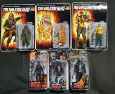 The Walking Dead Shiva Force Action Figures x 6  Rick Ezekiel Shiva Michonne