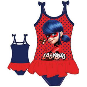 Miraculous Ladybug Badeanzug  Gr. 104 - 134  Rot/Blau    NEU