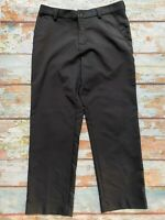 Adidas black skim fit pants size 34x30 men's