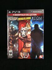 2K Essentials Collection Bioshock / Borderlands / XCOM Bundle (PlayStation 3)