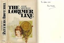 Anne Melville - The Lorimer Line - Signed - 1st/1st (Doubleday & Co 1973)