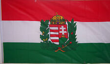 NEW 3ftx5 HUNGARY CREST HUNGARIAN BANNER FLAG better quality usa seller