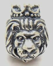 No.269 New Authentic Pandora Silver King of The Jungle Lion Charm # 791377