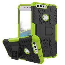 Hybrid Case 2 Pieces Outdoor Green For Huawei Honor 8 Case Cover New Case