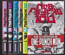 MOB PSYCHO 100 tomes 1 à 6 One MANGA série shonen en français