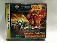 DUNGEONS & DRAGONS COLLECTION Capcom ( Sega Saturn, 1999 T-1224G ) SS NTSC-J