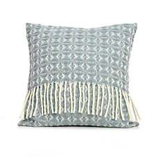Tweedmill Pure Wool Cobweave Cushion - Duck Egg