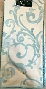 LAURA ASHLEY  KITCHEN TEA TOWELS(3) WHITE BLUE 100% POLYESTER 15 X 25 NIP