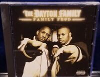 The Dayton Family - Family Fued CD (Missing Back Cover) insane clown posse esham