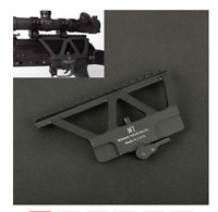 Tactical Military CNC Quick Detach AK Side Rail Red Dot Scope Mount Riffle Gun