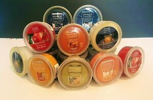 YANKEE CANDLE SCENTERPIECE MELTCUPS BUY MORE, SAVE 10% FREE SHIP! CHOOSE SCENT!
