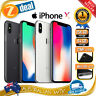 APPLE iPHONE X 64GB 256GB FACTORY UNLOCKED (AU STOCK, 100% GENUINE APPLE)