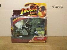 "Indiana Jones ""German soldier with motorcycle"" Last Crusade  Hasbro 2008 (Neuf)"