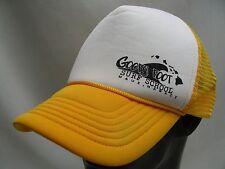 GOOFY FOOT SURF SCHOOL - MAUI, HAWAII - TRUCKER STYLE SNAPBACK BALL CAP HAT!