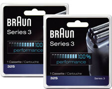 Braun 32S (2-Pack) Series 3 Shaver Head Cassette 2-Pack