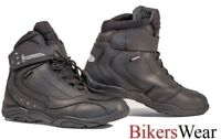 Richa SLICK - Black Everyday Motorcycle casual look Boots
