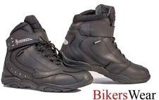 Richa SLICK - Black Everyday Motorcycle casual look Boots + FREE PAIR OF SOCKS