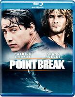 Point Break (Blu-ray Disc, 2011) Keanu Reeves Patrick Swayze NEW