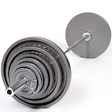 Troy USA Sports OSS-300 Olympic Weight Set with Olympic GOB-86 Bar - New