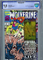Wolverine #75 Hologram CGC 9.8 NM/MT 1993 Comic Fatal Attraction
