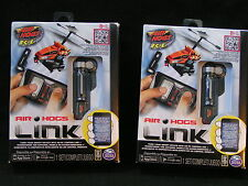 2 New AIR HOGS LINK - R/C Smart Phone Apple Android Remote Control *FREE SHIP