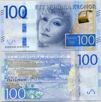 Sweden 100 Kronor ND 2016 P 71 b UNC