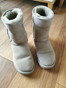 UGG Suede Boots Grey 37/UK Size 4.5