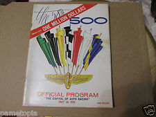 1974 Indy Indianapolis 500 Official Program