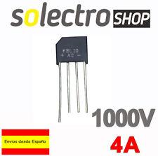 2x PUENTE RECTIFICADOR KBL10 - 4A / 1000V T0036
