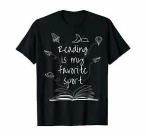 Reading Is My Favorite Sport Read More Books Lover Gift T-Shirt