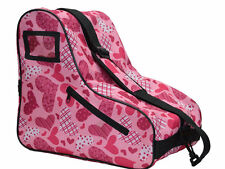 New! Epic Limited Edition Premium Pink Heart Quad Speed Roller Skate Bag